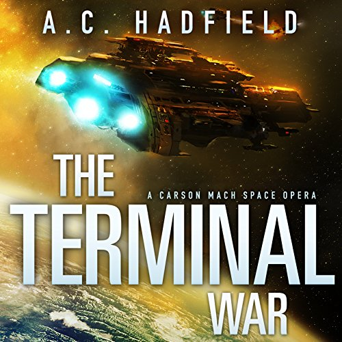 The Terminal War audiobook cover art