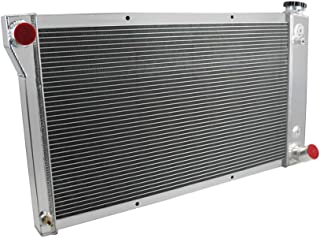OzCoolingParts 67-72 Chevy/GMC C/K/S/T-Series Radiator, 4 Row Core Aluminum Radiator for 1967-1972 1967 1969 1970 71 Chevy Blazer/GMC Jimmy C10/C20/K10/K20/K30 S/T 35/3500 K5/K15/K1500 Pickup Truck