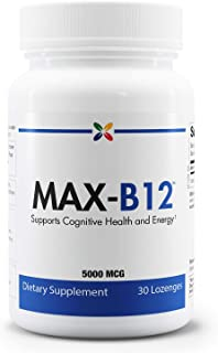 Sponsored Ad - Stop Aging Now - MAX-B12 Vitamin B12 Lozenges 5000 mcg - Supports Cognitive Health and Energy - 30 Lozenges