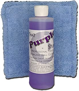 Creating the Difference That Purple Stuff Bowling Ball Cleaner Starter Kit   8 oz