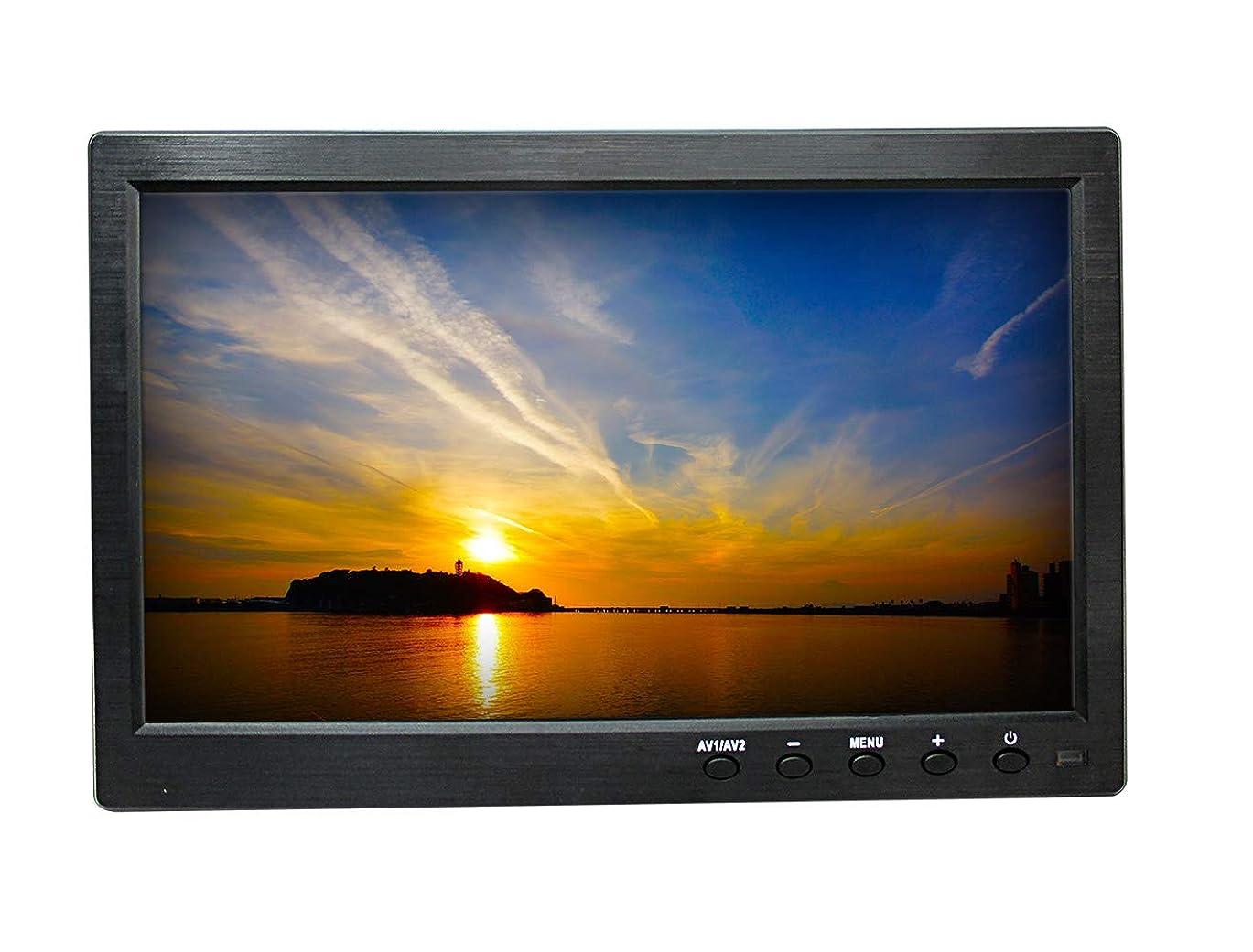 分析的スカートピケBroadwatch 10.1INCH HDMI LCDモニター AC100V電源付 (HDMI,VGA,BNC,AV入力)