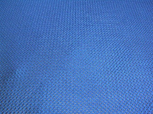 SyFabrics Sports Jersey Micro mesh Fabric 58 inches Wide Royal Blue