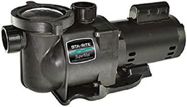 Pentair Sta-Rite N1-1A HP SuperMax Standard Efficient Single Speed High Performance Inground Pool Pump, 1 HP, 115/230-Volt