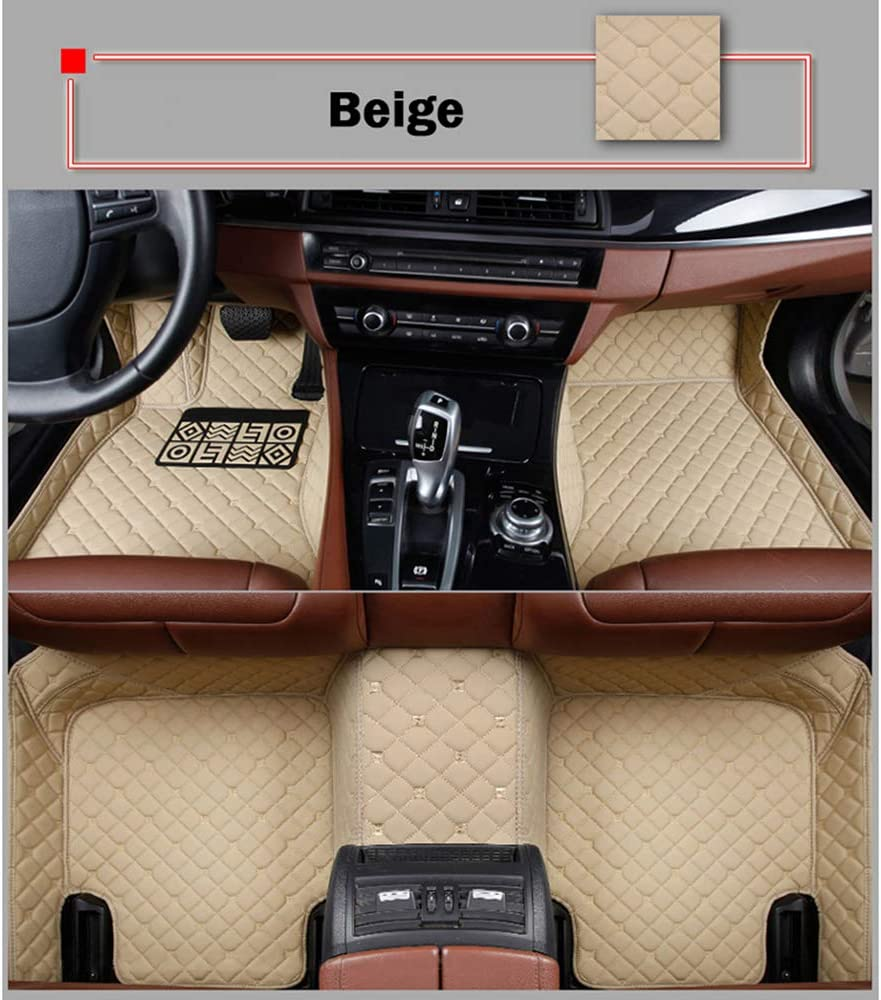 HCDSUSN Ranking TOP20 Leather car Floor mats for Gifts 5008 T200 Z10 T600 ZOTYE 2008