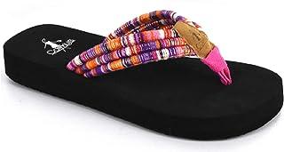 Cheetah 11 M US Little Kid Corkys Footwear Girls Future Featherlite Elastic Woven Elastic Mary Jane Flats