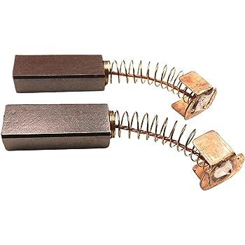 2 x Escobillas de carbón motor de carbón, para Singer tipo 20 u ...