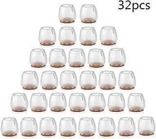 almohadilla de patas de sillas CZ Store/®-pie de silla|40 UNIDADES|✮✮GARANT/ÍA DE POR VIDA✮✮-pie de fieltro|tama/ño 12-16mm|almohadilla de silicona para muebles//sillas//muebles-punta silla antirayaduras
