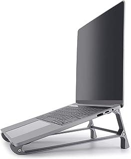 Laptopstativ, ergonomiskt universellt anteckningsstativ särskilt stabilt bärbart, lätt och hållbart, avtagbart surfplattes...