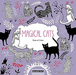 magical cats pads of color