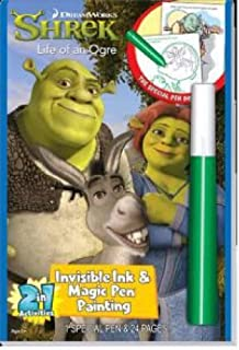 LEE PUBLICATIONS Shrek Life of an Ogre Invisible Ink and Magic Pen Painting