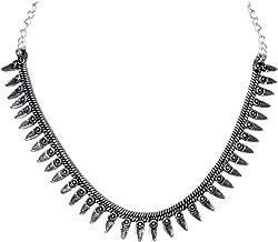 german silver necklace india