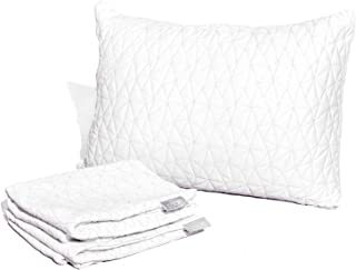 Coop Home Goods - Breathable Ultra Soft Noiseless Pillowcase - Patented Lulltra Fabric from Bamboo Derived Viscose Rayon and Polyester Blend - Oeko-Tex Certified - Queen Size 20