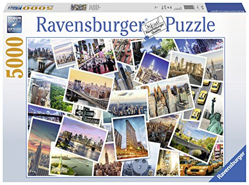 Ravensburger 17433 - Puzzle New York the City Never Sleeps