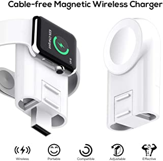 Funxim Watch Charger Magnetic Portable Wireless Charger Compatible for Apple Watch Series 4 3 2 1 44mm 40mm 42mm 38mm