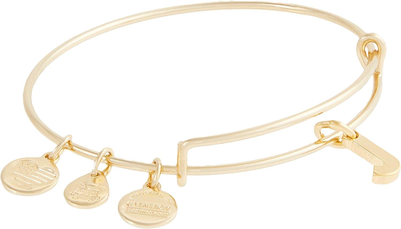 Alex and Ani Initial J III Bangle Bracelet