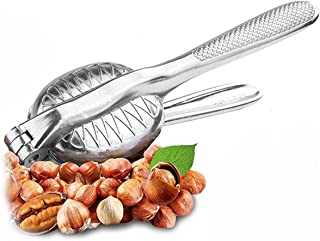 Magic Nutcracker Tool Works in Seconds. No Mess. Works on Walnuts, Almonds, Pecans, Hazelnuts. Great to Use As a Lemon Lime Squeezer.