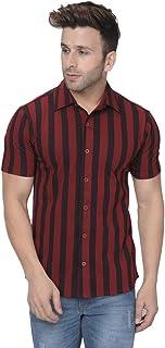 GRITSTONES Men's Slim Fit Casual Shirt