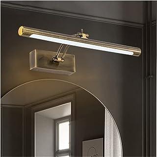Creative 41/55/70cm Mirror Front Lights Simple European-Style Bronze Color Post-Modern Household Bathroom Waterproof Vanit...