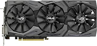 ASUS STRIX-GTX1060-6G-GAMING - Tarjeta gráfica (Strix, NVIDIA GeForce GTX 1060, 6 GB, GDDR5, DVI, HDMI, DP) Color Negro