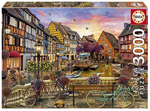 Colmar, Francia. Puzzle de 3000 Piezas. Ref. 19051, Multicolor