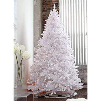 7 Ft White Pre Lit Christmas Tree Cheaper Than Retail Price Buy Clothing Accessories And Lifestyle Products For Women Men