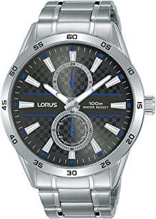 ساعة رياضية ستانلس ستيل للرجال من لوراس R3A39AX9