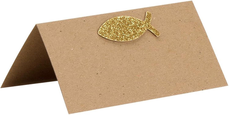 Rössler Papier - - Komm. Konf. Como, Tischkarte Kraft m. m. m. Appl. 6 100x100 mm - Liefermenge  5 Stück B07CX52QQM  | Guter weltweiter Ruf  68a150