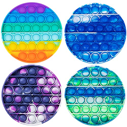 BINGLALA Pop It Push tie dye Bubble Sensory Fidget Toy Autism Special Needs Stress Reliever for Kids & Adults