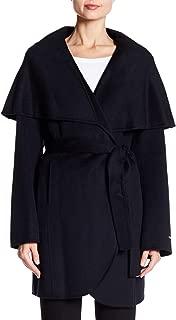 Womens Marla Winter Wool Blend Wrap Coat