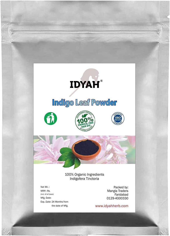 Bellentines Over item handling Idyah Natural Indigo Dealing full price reduction Tinctoria Powder Indigofera