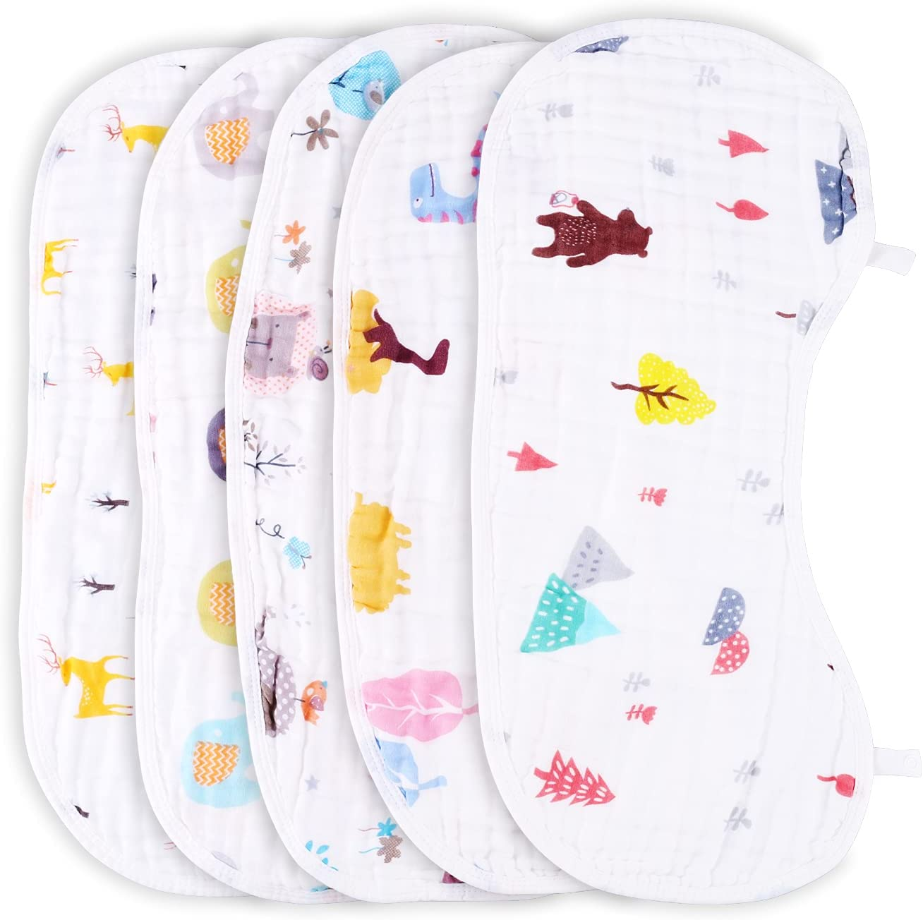Muslin Burp Cloths 5 Pack Baby for Sets B Sales results No. Finally popular brand 1 Unisex Cloth