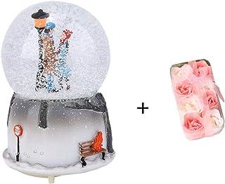 WISREMT Forma de los amantes de la bola de nieve musical