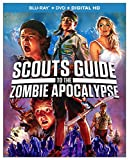 Scouts Guide to the Zombie Apocalypse (Blu-ray/DVD/Digital HD) Brand New