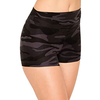 ALWAYS Women Workout Yoga Shorts - Premium Buttery Soft Solid Stretch Cheerleader Running Dance Volleyball Short Pants