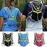 Kstyhome Outdoor Bag Hydration Packs Rucksack für Wasserblase zum Wandern im Freien Laufen...