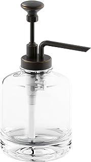 KOHLER K-98630-2BZ Artifacts Soap dispenser assembly, Oil-Rubbed Bronze
