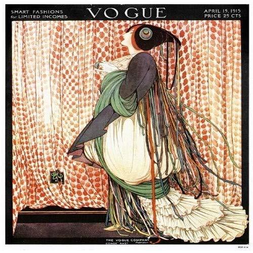 onthewall Vogue Vintage-Covers–Pop Art Poster Druck April 1915(14)