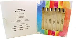Philosophy 6-Piece Eau de Parfum Spray Fragrance Set (Truthful, Empowered, Giving, Compassionate, Grateful, Expressive)
