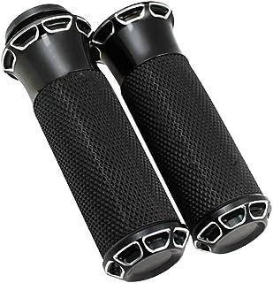DLLL CNC per Harley Davidson Dyna Sportster XL883 XL1200 X48 25 mm Manopole universali per manubrio