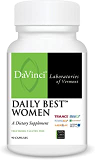 Davinci Laboratories Daily Best Women Multivitamin for Women's Health, 90 Count