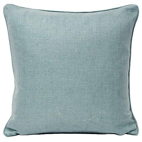 Riva Paoletti Atlantic Cushion Covers, Blue, 55 x 55 cm, Polyester, Duck Egg