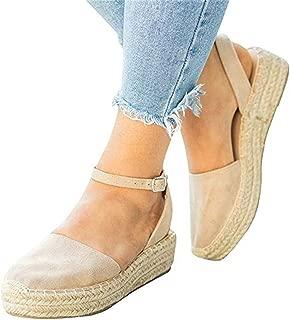 Best closed toe heeled espadrilles Reviews