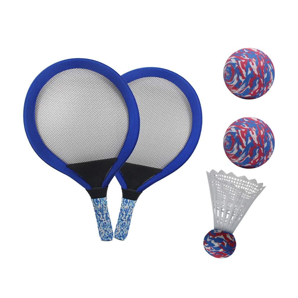V GEBY Badminton Racquets 2 Player Badminton Racquets Replacement Badminton Racket Set