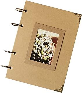 Insho 210 X 290 mm DIY Scrapbook Instax Camera Album Notebook for Fuji Instax Mini /Wide Series Photo,Birthday / Wedding / Family Memoria ,Baby Growing Record