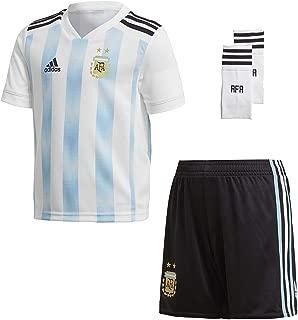 adidas Kids Soccer Argentina Home Mini Kit