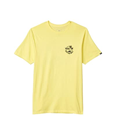 Vans Mini Dual Palm II T-Shirt (Yellow Cream) Men