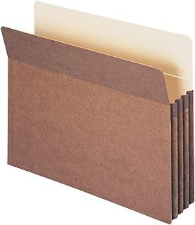 Smead File Pocket, Straight-Cut Tab, 3-1/2
