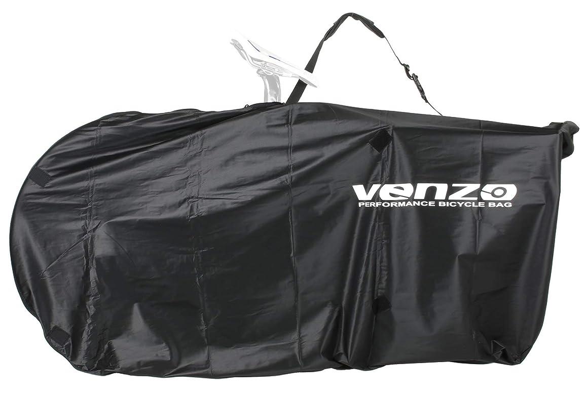 前述の懐疑論韻Venzo 210D ナイロンバイク 自転車 トラベルキャリーバッグ 26インチ MTB 700C ロードバイク用