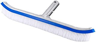 BIGTHUMB Pool Brush,18 inch Pool Brush Head for Swimming Pool,with Aluminum Back and Nylon Bristle,for Cleaning of Swimmin...