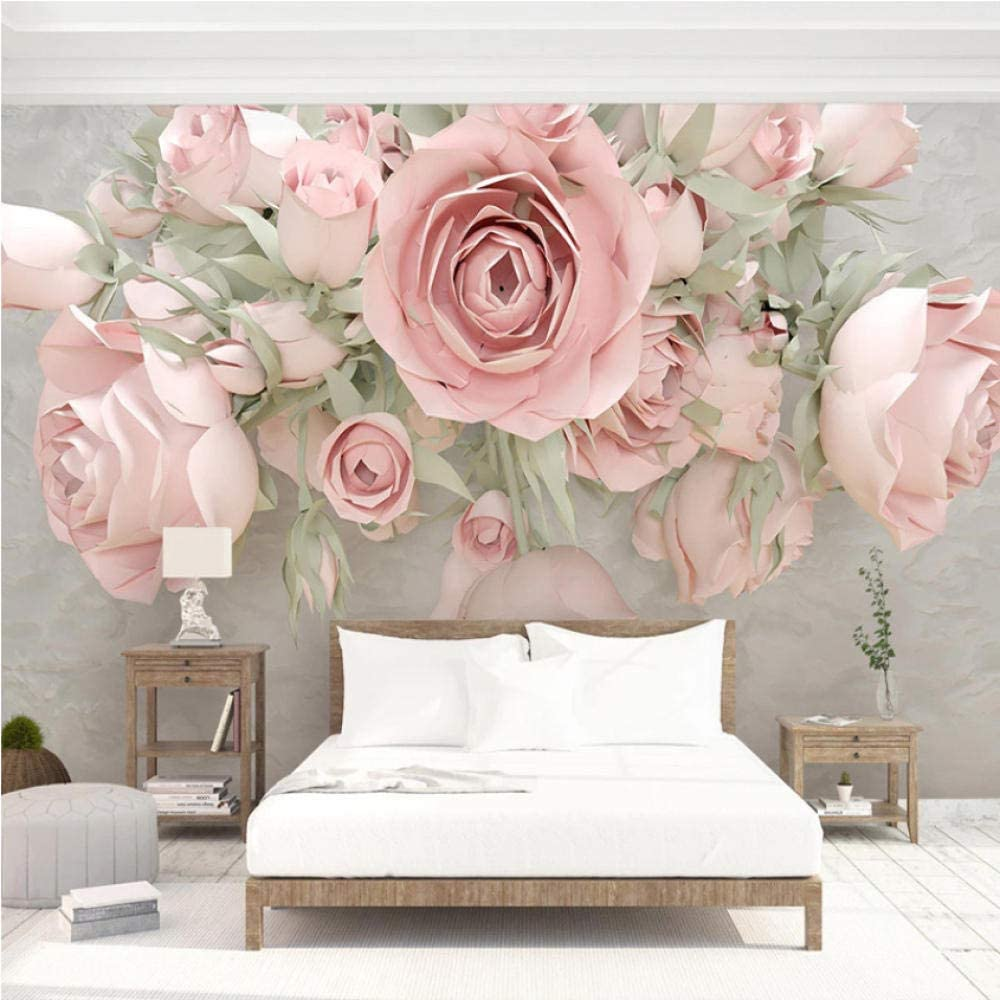 Clhhsy Custom 3D High quality Photo Wallpaper Embossed Some reservation N Walls Bedroom for